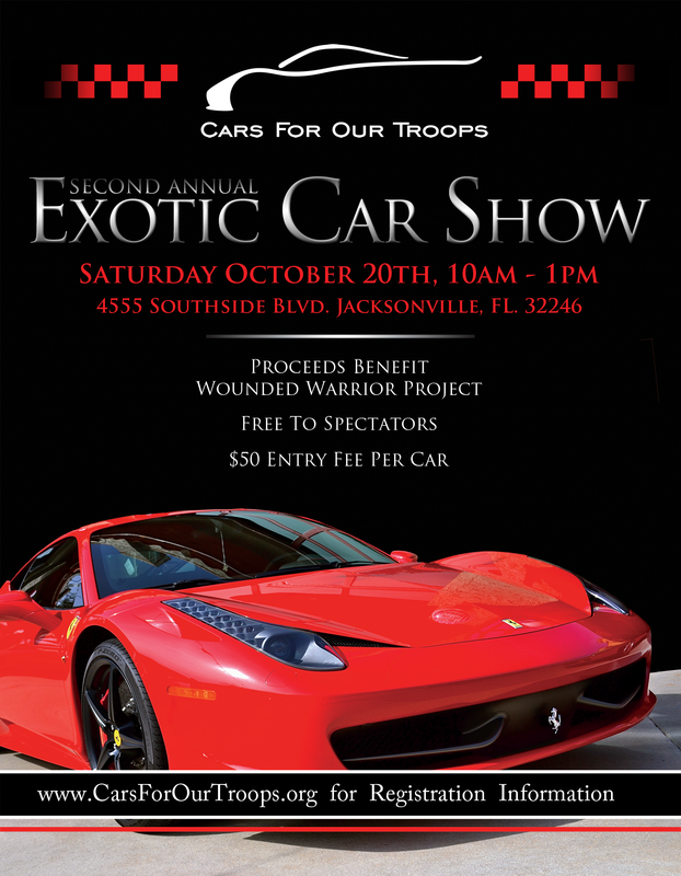 Events Cars For Our Troops - Cars for events